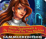 Alicia Quatermain: Da Vinci and the Time Machine Sammleredition